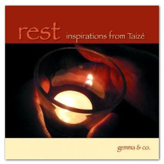 Rest CD, Inspirations from Taize with Cathy AJ Hardy and Harpist Karin Dart