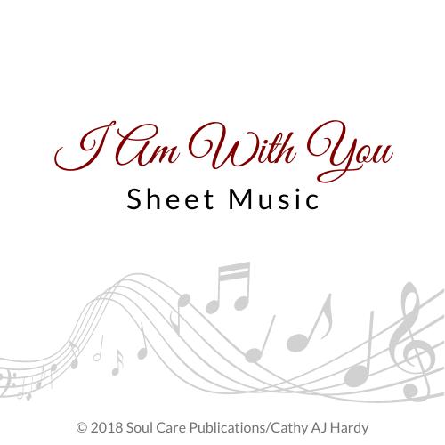 'I Am With You' Cathy Aj Hardy Sheet Music