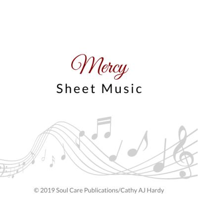 'Mercy' Cathy Aj Hardy Sheet Music